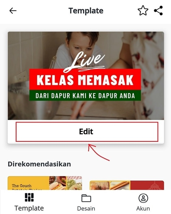 cara edit thumbnail youtube di canva